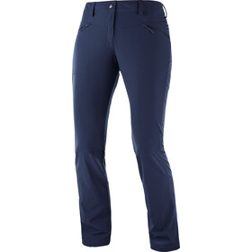 Salomon Wayfarer Straight LT Pants Women night sky